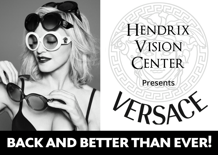 Versace is back - Hendrix Vision
